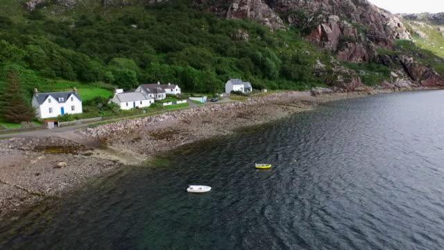 diabaig, torridon, north highlands of scotland - insel skye stock-videos und b-roll-filmmaterial