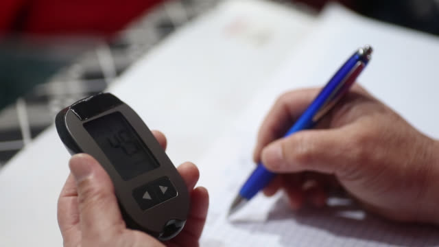 diabetes care - glucose stock videos & royalty-free footage