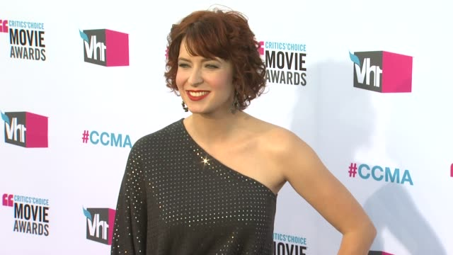 Diablo Cody at 17th Annual Critics' Choice Movie Awards on 1/12/12 in Hollywood CA