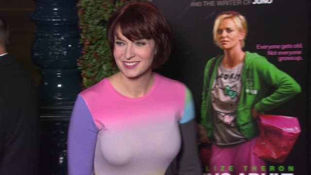 Diablo Cody at 'Young Adult' Premiere on in Los Angeles CA