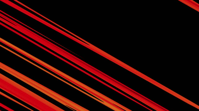 diagonal parallel red lines on black background - outline stock videos & royalty-free footage
