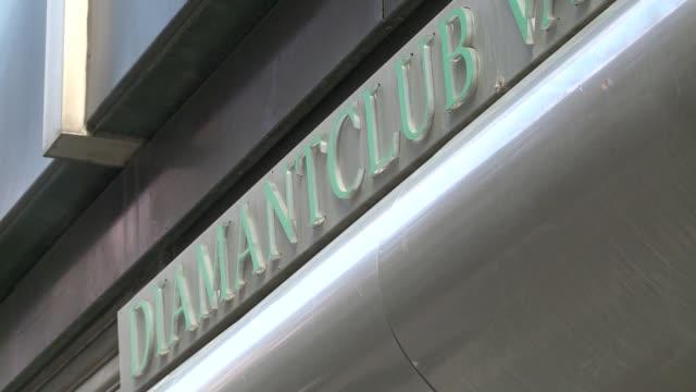 diamantclub sign - english language stock videos & royalty-free footage