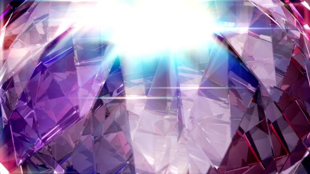 vídeos de stock, filmes e b-roll de loop de diamante 4k - entrega de prêmios