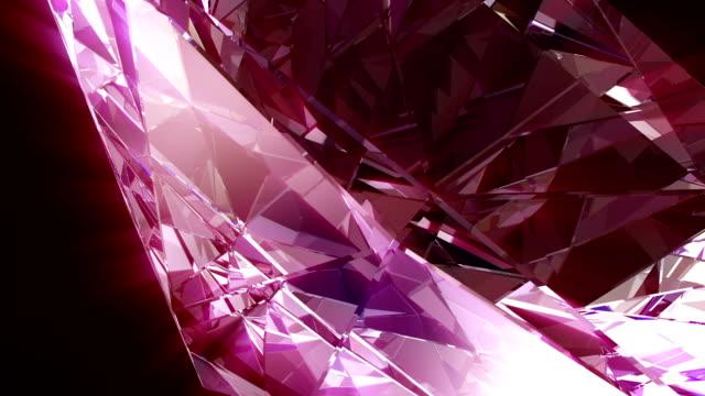 diamond 4k loop - precious gem stock videos & royalty-free footage