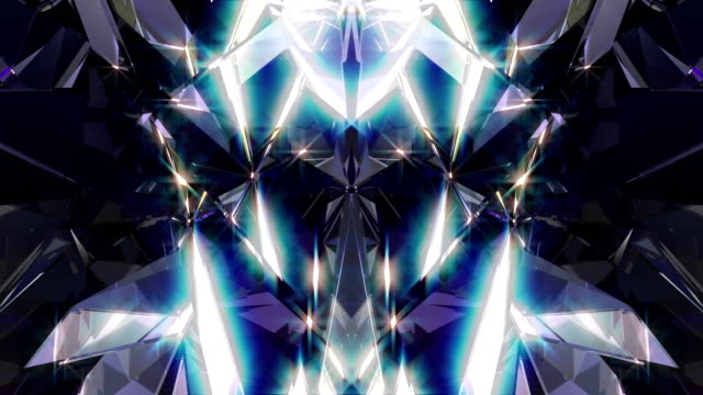 diamond 4k - kaleidoscope pattern stock videos & royalty-free footage