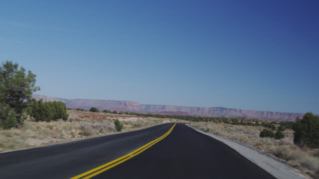 MS TS Diamond bar road towards city / Grand Canyon, Arizona, USA