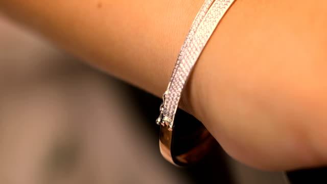 Diamond bracelet jewellery gift for women