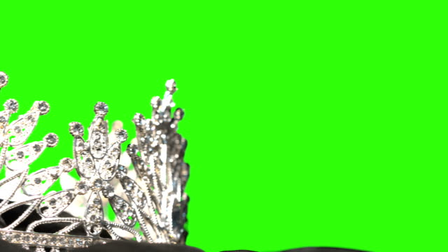 diamond crown- pageant contest background - crown stock videos & royalty-free footage