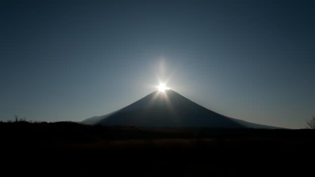 diamond fuji in japan - shizuoka prefecture stock videos and b-roll footage
