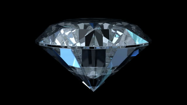 Diamond Isolated On Black (HD1080)