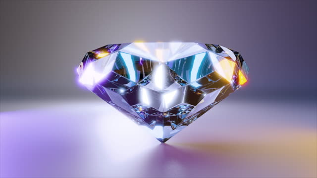 diamond jewelry stone - stone object stock videos & royalty-free footage
