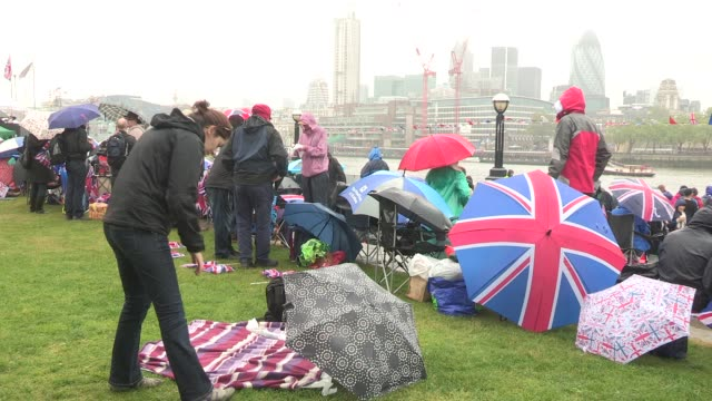 diamond jubilee thames river pageant on june 03 2012 in london england - beauty contest stock videos and b-roll footage