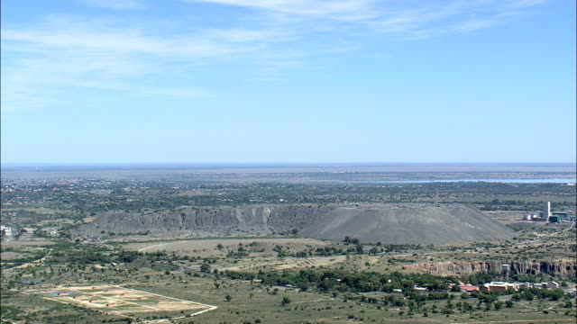 Diamond Mine  - Aerial View - Orange Free State,  South Africa