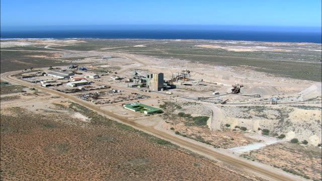 Diamond Mining  - Aerial View - Northern Cape,  Namakwa District Municipality,  Kamiesberg,  South Africa