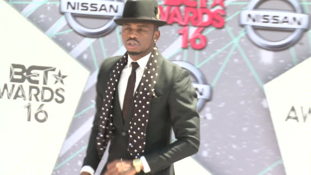 Diamond Platnumz at 2016 BET Awards in Los Angeles CA
