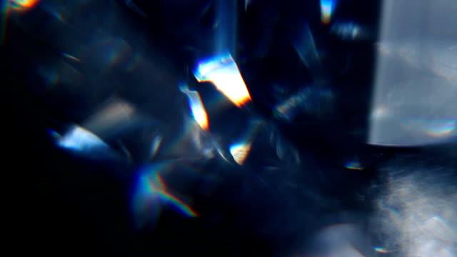 diamond prism macro 11 - prism stock videos & royalty-free footage