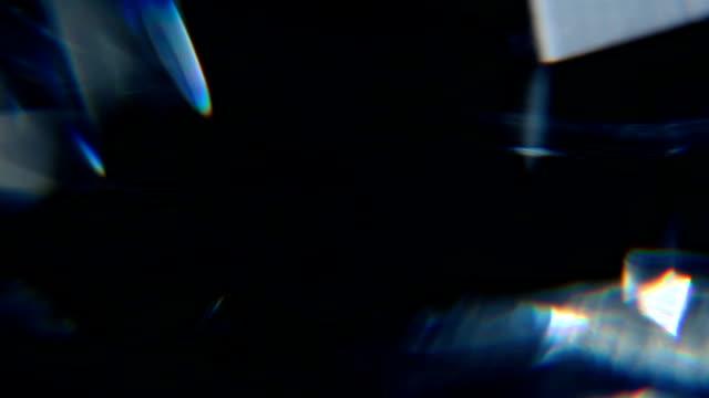 diamond prism macro 21 - prism stock videos & royalty-free footage