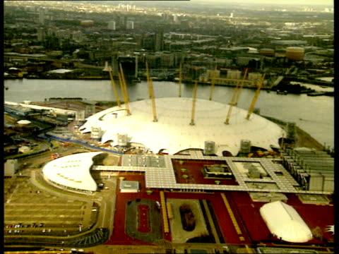 lib england london greenwich millennium dome - the o2 england stock videos & royalty-free footage