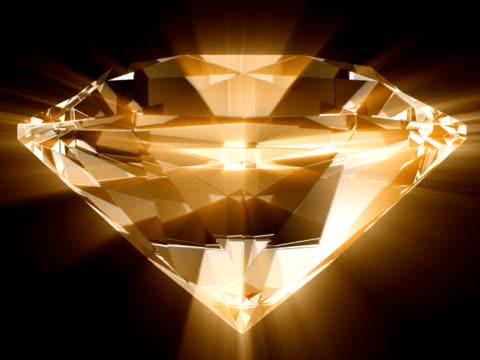 diamond rays #5 ntsc  gold - financial accessory stock videos & royalty-free footage