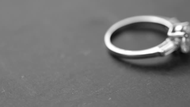 diamond ring - ring stock videos and b-roll footage