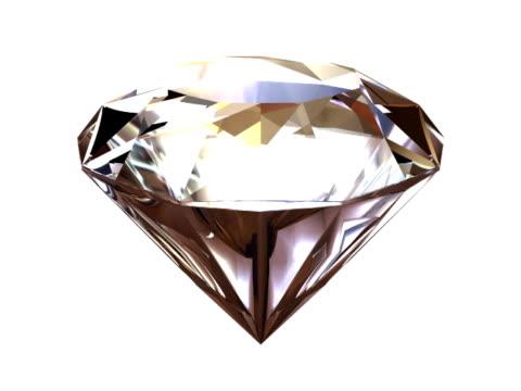 Diamond spinning