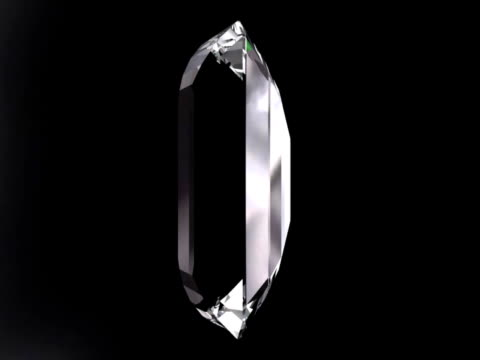 diamond spinning - stone object stock videos and b-roll footage