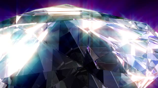 4k diamond - stone object stock videos & royalty-free footage