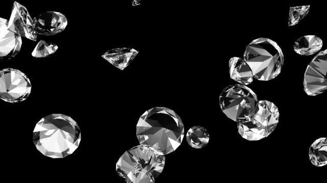 diamonds #2 hd - stone object stock videos & royalty-free footage