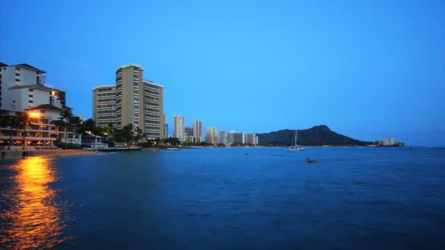 Diamonds Head dawn time lapse HD - Honolulu