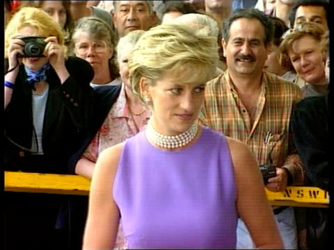 Diana continues visit CMS Princess Diana along waves