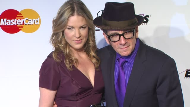 diana krall, elvis costello at the 2011 musicares person of the year honoring barbara streisand at los angeles ca. - elvis costello stock-videos und b-roll-filmmaterial