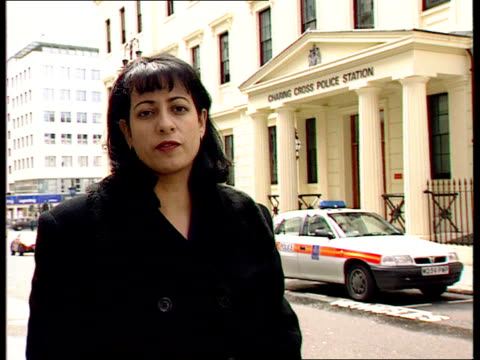 diana love letters diana love letters itn charing cross police stn ghosh i/c - charing cross stock videos and b-roll footage
