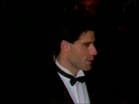vídeos de stock, filmes e b-roll de us reactions lib washington white house cms john travolta along at reception - princesa diana
