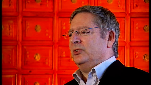 jury rules unlawful killing London INT Setup shots of Dominic Lawson working at desk Dominic Lawson interview SOT he was accusing late Robin Cook of...