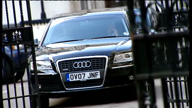 jury rules unlawful killing Reactions Car carrying Mohamed Al Fayed away from court