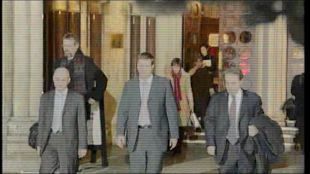 trevor rees testimony / refusal of paparazzi witnesses to testify england london royal courts of justice photography** trevor rees jones along with... - testimony stock videos & royalty-free footage