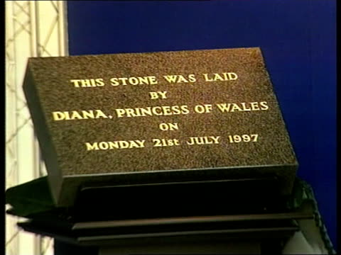 diana returns from holiday diana returns from holiday itn north london northwick park hospital lms diana princess of wales unveils plaque to... - face down stock videos & royalty-free footage