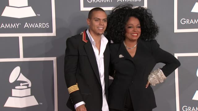 Diana Ross at 54th Annual GRAMMY Awards Arrivals on 2/12/12 in Los Angeles CA