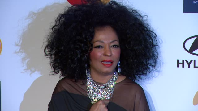 diana ross at clive davis and the recording academy's 2012 pre-grammy gala and salute to industry icons honoring richard branson on 2/11/12 in... - clive davis stock videos & royalty-free footage