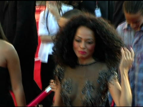 Diana Ross at the 2004 American Music Awards Red Carpet at the Shrine Auditorium in Los Angeles California on November 14 2004