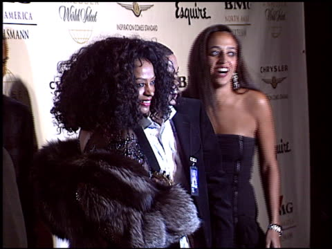 Diana Ross at the Clive Davis' 2004 American Music Awards Party on November 14 2004