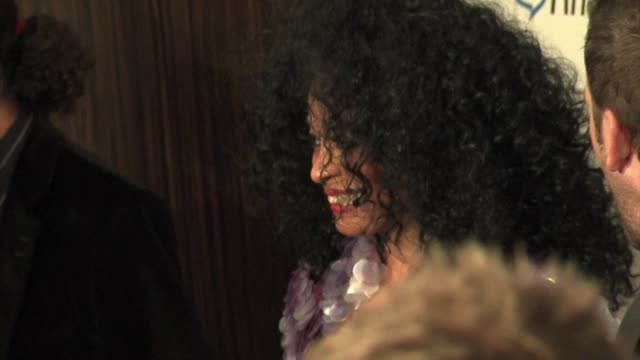 Diana Ross at the Clive Davis' PreGrammy Awards Party arrivals at the Beverly Hilton in Beverly Hills California on February 7 2006