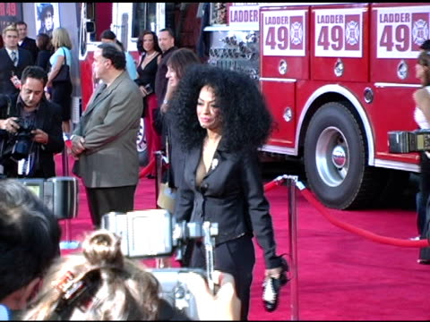 Diana Ross at the 'Ladder 49' Premiere at the El Capitan Theatre in Hollywood California on September 21 2004