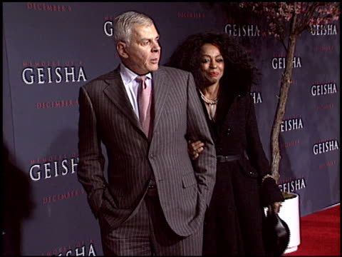 Diana Ross at the Memiors of a Geisha Premiere at the Kodak Theatre in Hollywood California on December 4 2005