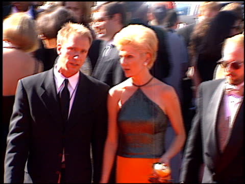Diana Scarwid at the 1996 Emmy arrivals at the Pasadena Civic Auditorium in Pasadena California on September 8 1996