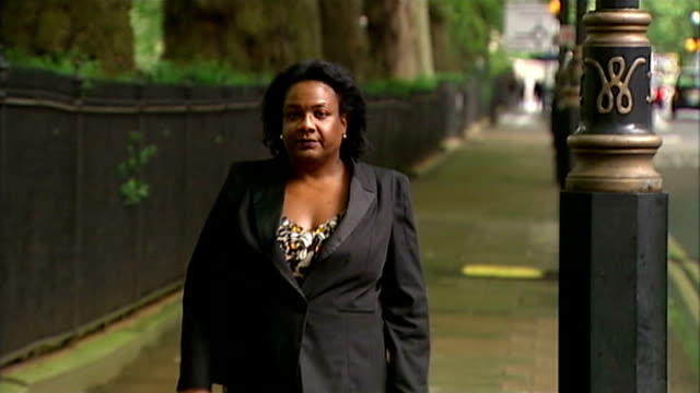 diane abbott announces she will run for london mayor t09061017 diane abbott mp along street - diane abbott stock videos & royalty-free footage