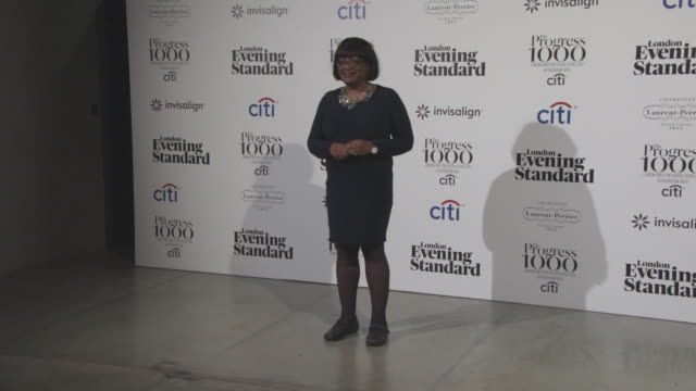 london's most influential people in partnership with citi and sponsored by invisalign uk on october 19 2017 in london england - diane abbott stock videos & royalty-free footage