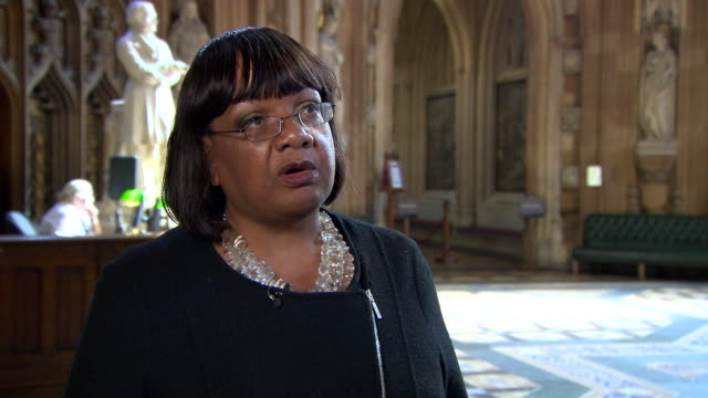 diane abbott saying the government's immigration cap was always more about politics than practical management of migration - cap stock videos & royalty-free footage
