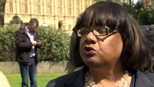 diane abbott saying the more people focus on the issues and the people the better it will be for the labour party - diane abbott stock videos & royalty-free footage