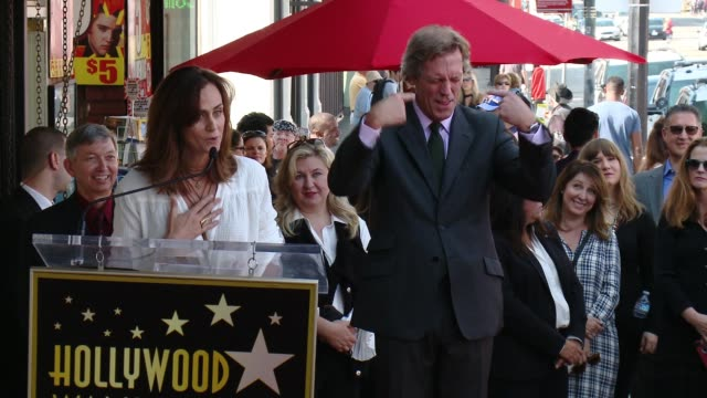 diane farr at hugh laurie honored with star on the hollywood walk of fame on october 25, 2016 in hollywood, california. - hugh laurie stock videos & royalty-free footage